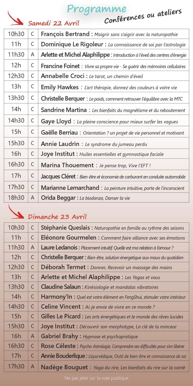 Salon Bien Etre Lantic 22 23 avril 2017